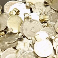 400 real COINS Tribal Belly Dance Bellydance Kuchi Tribe MIXED ((polished))