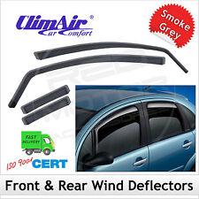 CLIMAIR Car Wind Deflectors SEAT TOLEDO 4DR 1991...1996 1997 1998 SET (4) NEW