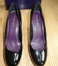Madden Girl Cleary Black Women F Leather Pump High Heel Platform Dres Shoe 6 $55