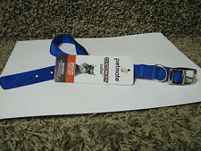 "Nylon Dog Collar, Royal Blue, Medium 18""x5/8""-new with tags!"