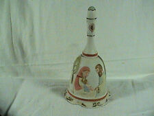 Lefton The Christopher Collection Christmas Musical Bell Silent Night, Signed