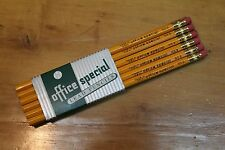 1 Sleeve Of 12 Office Special #3 Pencils NOS - Hoelscher's Inc. Buffalo NY