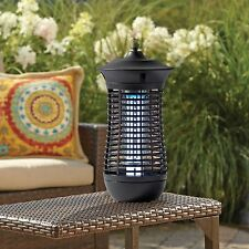 Insect Mosquito Flies Control Killer Electric Corded Zapper Trap Light  In Black