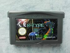 R-TYPE III 3 - SHOOT'EM UP 2D - NINTENDO GAME BOY ADVANCE GBA e DS NDS - LOOSE