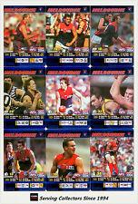 2004 AFL Teamcoach Blue Platinum Trading Card Team Set Melbourne (9)
