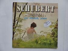 SCHUBERT Impromptu Op 90 N°1 / Op 94 N°2  LILI KRAUS Piano M-946