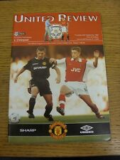 24/09/1998 Manchester United v Liverpool [United Treble Season] . Thank you for