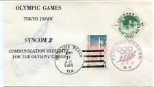 1964 Syncom 3 Communication Olympic Games Satellite Beach Tokyo Japan