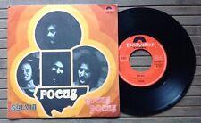 """FOCUS / SYLVIA - HOCUS POCUS - 7"""" (Italy 1973) EX/EX-"""