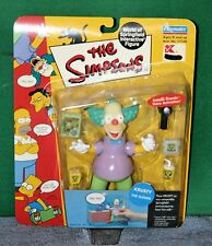 KRUSTY The Clown Simpsons Action Figure NOC Intelli Tronic Voice 2000 Playmates