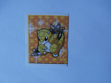 Autocollant Stickers POKEMON Collection MERLIN N°196 SABELETTE !!!