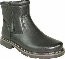 Martin-7 Men Winter Boot Fur Lining Size 6 (Fit Smaller-Order One Size Bigger)