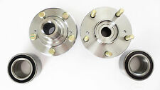 Front Pair Wheel Hub & Bearing Set Honda Accord 2.4L 03-07 Auto. Transmission