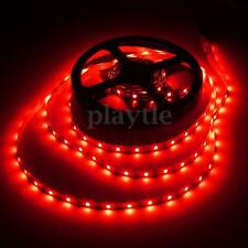 Flexible Red Waterproof 5M 300 LED Strip Light 12V For Boat/Truck/Car/SUV/RV