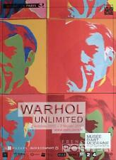 ANDY WARHOL - PARIS EXHIBITION 2015 - RARE ORIGINAL ADVERTISING POSTER