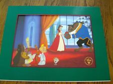 "DISNEY'S ""BEAUTY AND THE BEAST-ENCHANTED CHRISTMAS"" EXCL. COM. LITHOGRAPH-NEW"