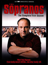 THE SOPRANOS - THE COMPLETE FIRST SEASON 1 (DVD, 4-Disc Set) - NEW