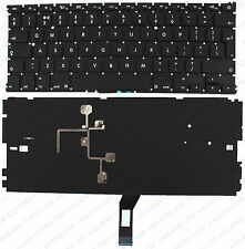 "Apple Macbook Air 13"" 2011 A1369 A1466 Teclado Reino Unido LAYOUT con iluminación F69"