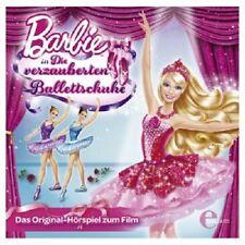 BARBIE - DIE VERZAUBERTEN BALLETTSCHUHE  CD HÖRSPIEL ZUM FILM KINDER NEU