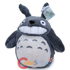 My Neighbor Totoro Plush Doll Large Soft Stuffed Dark Grey Smile Totoro Ghibli
