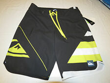 Quiksilver New Wave USA KTA6 charcoal  36 board shorts swimming trunks Mens surf