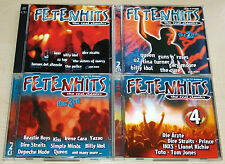 8 CD SAMMLUNG - FETENHITS - THE REAL CLASSICS - 1 2 3 4 - U2 QUEEN ÄRZTE TOTO