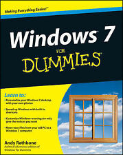 Windows 7 for Dummies (For Dummies (Computers)), Rathbone, Andy Paperback Book