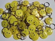 "72 SMILE KEYCHAIN 1.5"" LOT 0F 6DZ CARNIVALS, PARTY TOYS, PARTY FAVORS, VENDING"