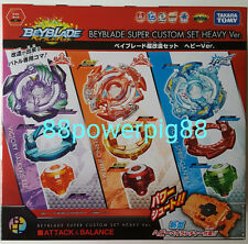 Takara Tomy Beyblade Burst B-64 Super Custom Reshuffle Set Heavy Ver. US Seller