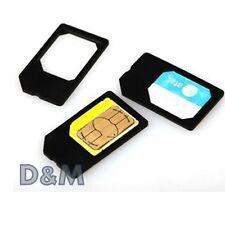 Adattatore Micro Sim Card per Samsung Apple iPhone Nokia
