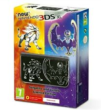 NEW NINTENDO 3DS XL Solgaleo and Lunala (Limited edition) [NUEVA Y PRECINTADA]