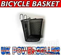 NEW Bike cycle Wire Mesh Front SHOPPING BASKET Free P&P