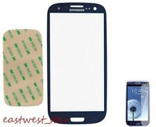 Pebble Blue Front outer Glass Screen For Samsung Galaxy S3 SGH-I747 AT&T