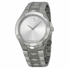 Movado Mens Luno Stainless Steel Swiss Watch 0606379