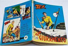 Tex n.104 prima edizione con £.200 edizioni Araldo del 1969