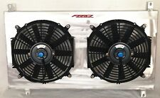 ALUMINUM RADIATOR SHROUD & FAN FOR Toyota Supra TURBO MK4 JZA80 1994-1998