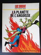 La planète de l'angoisse Luc Orient EO BON ETAT