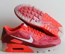 NIKE AIR MAX 90 ICE LASER CRIMSON-WHITE-LEGION RED SZ 10 [631748-601]