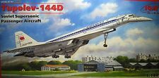 1/144 Tupolev TU-144D  Model Kit by ICM