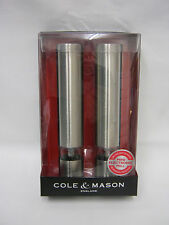 New Cole And Mason Mini Electronic Salt Pepper Mill Set H3057480 Chiswick