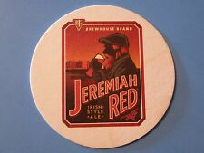 Beer Collectible Bar Coaster ~ BJ's Brewhouse Brand Jeremiah Red Irish Style Ale