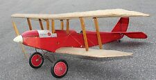 """Golden Oldie"" 39 inch wing  RC Sport Biplane Model AIrplane Printed Plans"