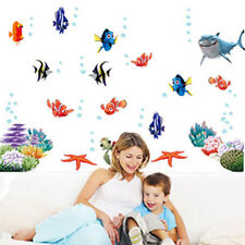 Lovery Ocean Sea Fish Vinyl Art Removable Wall Sticker Home Mural Room Decor Hot