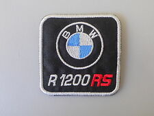 BMW R1200RS PATCH TOPPA RICAMATA TERMOADESIVA  CM.5,5X5,5