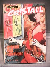 SUPER CRISTALL Editrice Universo 1974 N 3 Fumetti Narrativa per Ragazzi Racconto