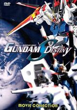 Gundam Seed Destiny; 4 Movie Collection, DVD English Language Audio Track  Anime