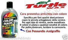 TURTLE WAX COLOR MAGIC CERA PROTETTIVA AUTO GRIGIO ARGENTO ALONI STRIATURE 500ml