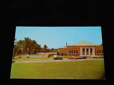 Vintage Postcard, ANDERSON, SOUTH CAROLINA, SC, Recreation Center. 1950's Cars