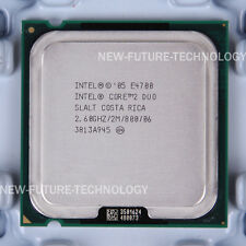 SLALT- Intel Core 2 Duo E4700 2.6 GHz 2 MB 800 MHz LGA 775 CPU US free shipping