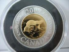 RCM - 2000 - $2 - Knowledge - 92.5% Silver / Gilt - Proof - UHC -  Exact Coin